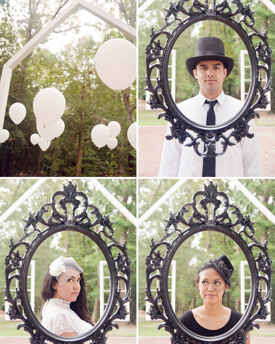 Quirky DIY Photo Booth Props For Your Curradine Wedding