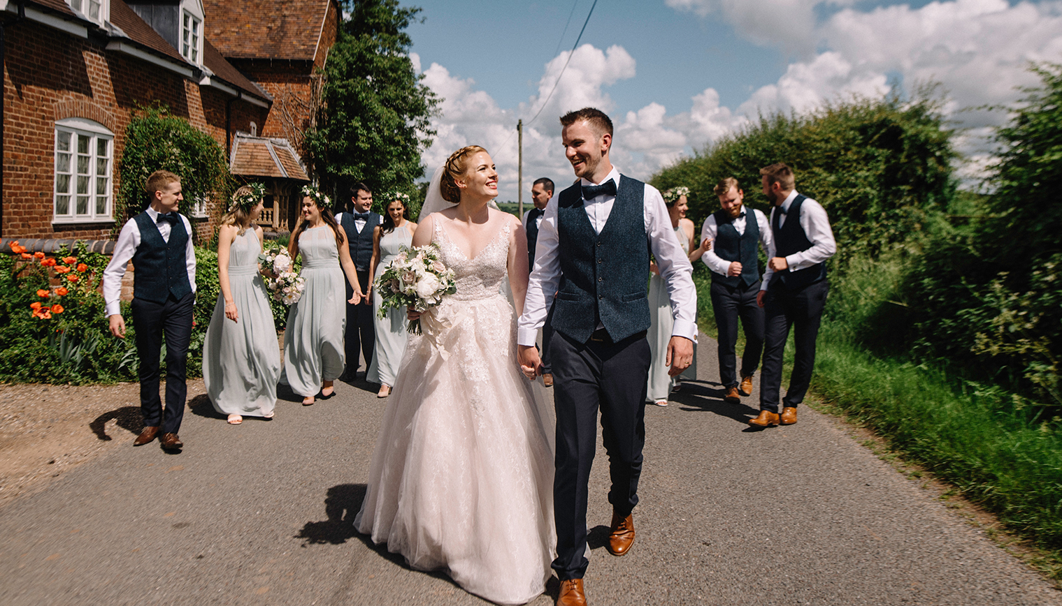 How to Plan a Wedding in Six Months at Curradine Barns
