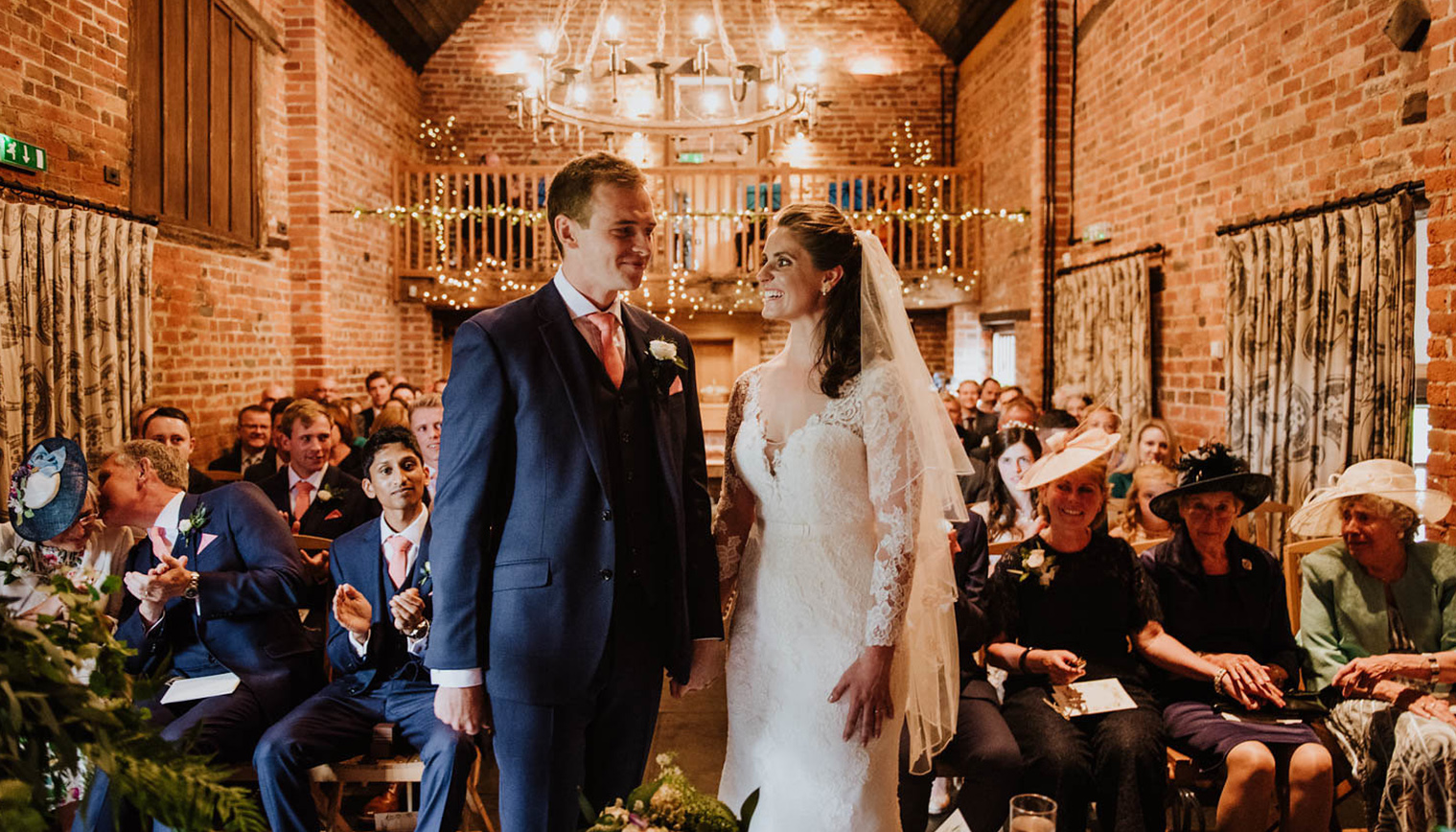 Curradine Barns in Worcestershire is the perfect venue for a last minute wedding