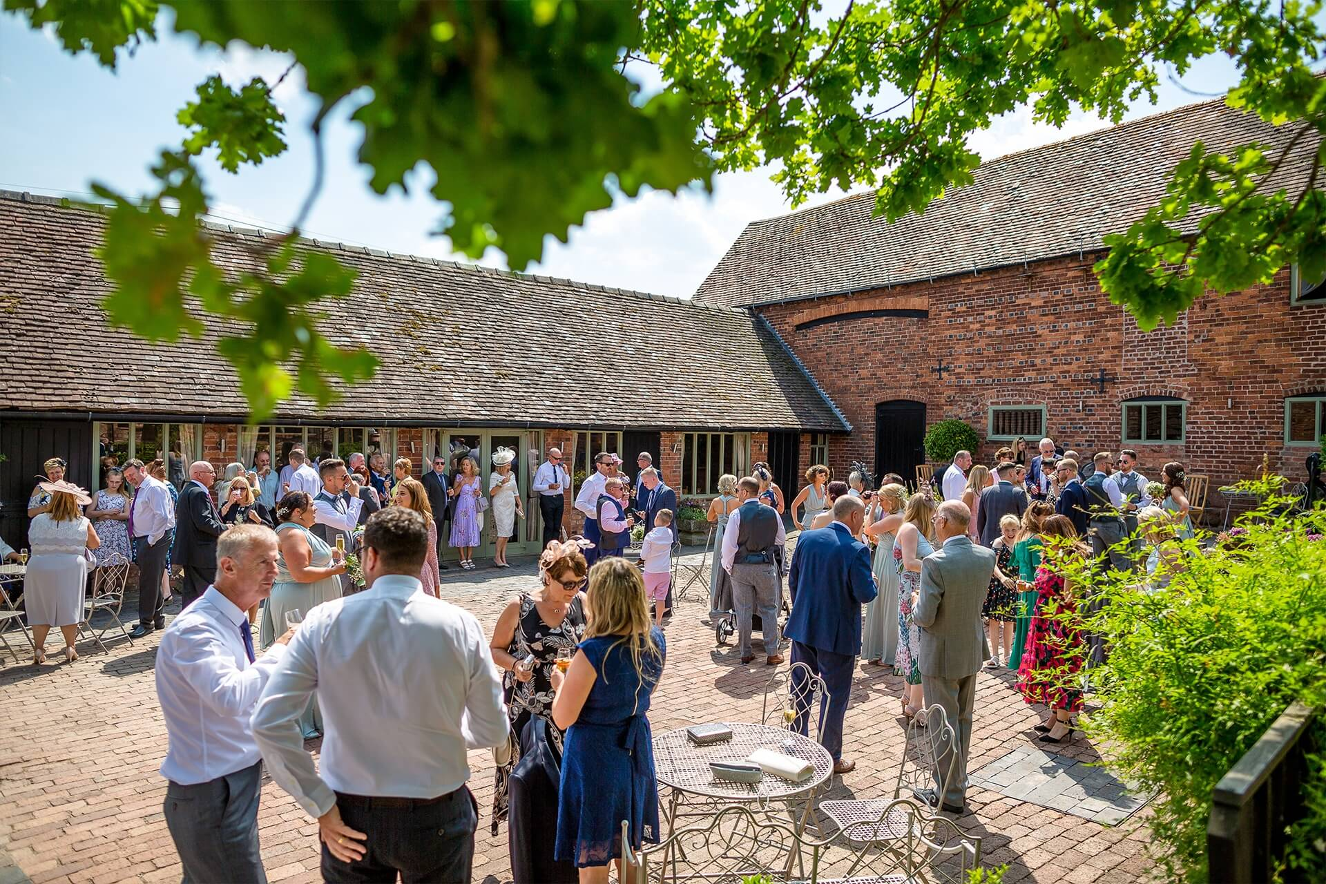 guests in the courtyard curradine barns worcestershire s2 images