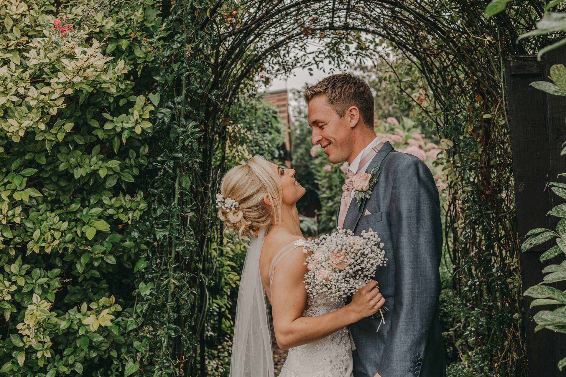grounds and garden bride and groom curradine nellie photography